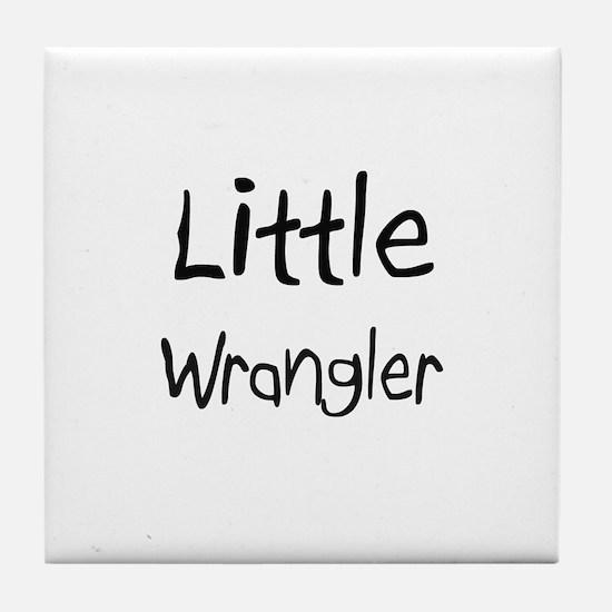Little Wrangler Tile Coaster