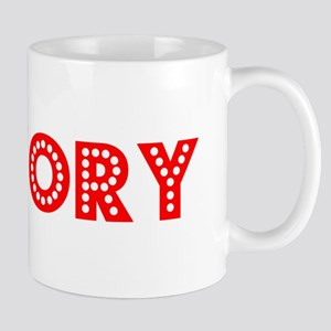 Retro Hickory (Red) Mug