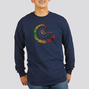 "Cam ""C"" Citrus - Long Sleeve Dark T-Shir"