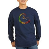 Cam c Long Sleeve Dark T-Shirts