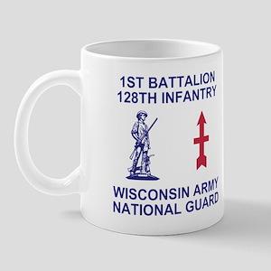 1-128th Infantry <BR>11 Ounce Mug 1