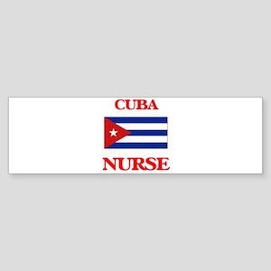 Cuba Nurse Bumper Sticker