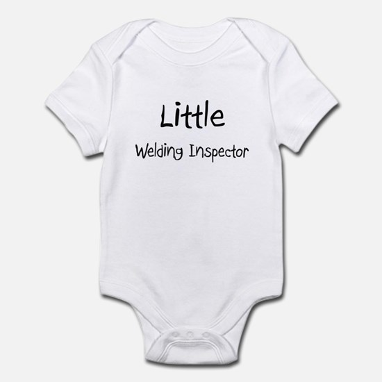 Little Welding Inspector Infant Bodysuit