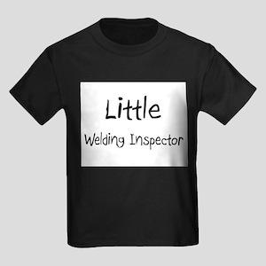 Little Welding Inspector Kids Dark T-Shirt