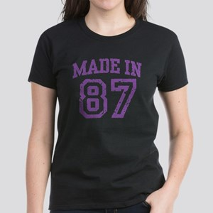 Made in 87 Women's Dark T-Shirt