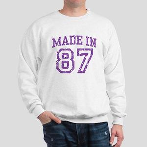 Made in 87 Sweatshirt