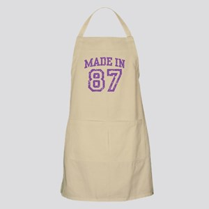Made in 87 BBQ Apron