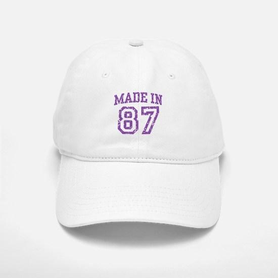 Made in 87 Baseball Baseball Cap