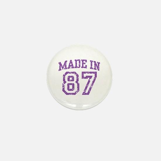 Made in 87 Mini Button
