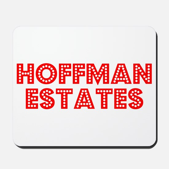 Retro Hoffman Esta.. (Red) Mousepad