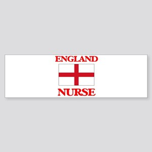 England Nurse Bumper Sticker