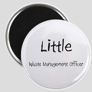 Little Waste Management Officer Magnet