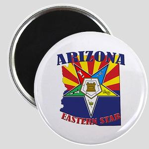Arizona Flag Eastern Star Magnet