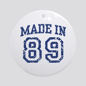 Made in 89 Ornament (Round)