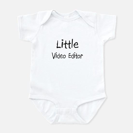 Little Video Editor Infant Bodysuit