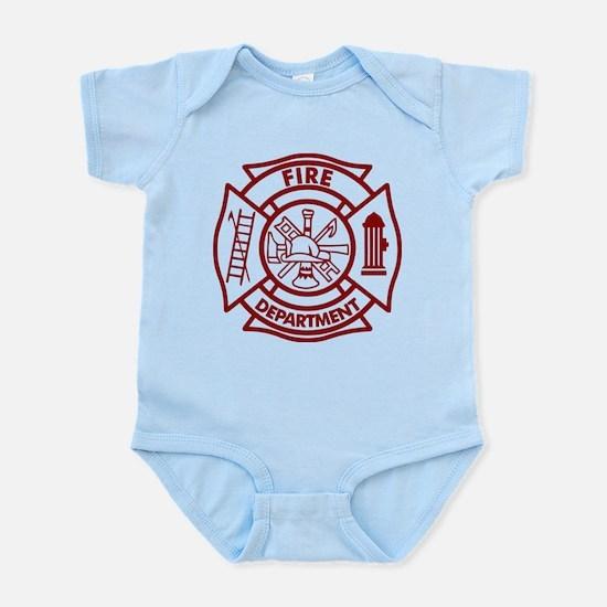 Firefighter Maltese Cross Infant Bodysuit