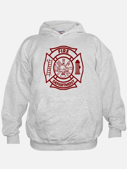 Firefighter Maltese Cross Hoodie