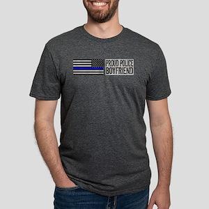 Police: Proud Boyfriend (Black Flag, T-Shirt