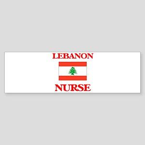 Lebanon Nurse Bumper Sticker