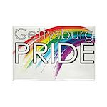 Gettysburg Pride logo Magnets