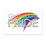 Gettysburg Pride logo Rectangle Car Magnet