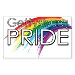 Gettysburg Pride logo Sticker
