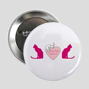 Trucker Cat Button