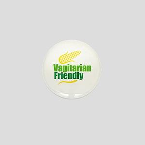 Vagitarian friendly Mini Button