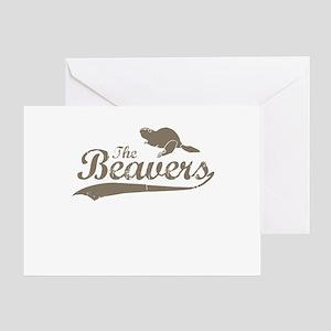 The Beavers Greeting Card