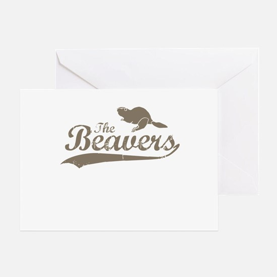 The Beavers Greeting Card