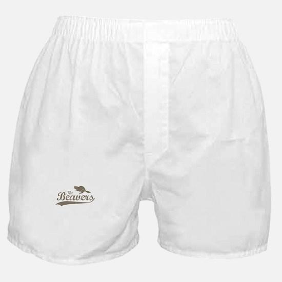 The Beavers Boxer Shorts
