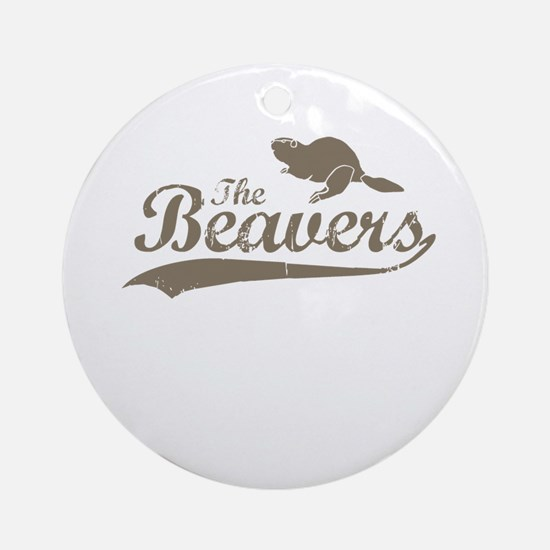 The Beavers Ornament (Round)