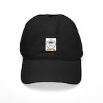 BELIVEAU Family Crest Black Cap