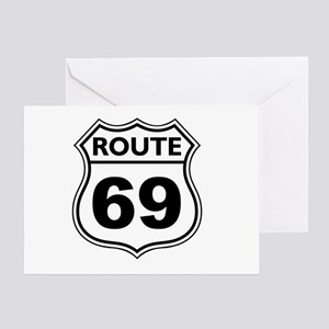Route 69 Greeting Card