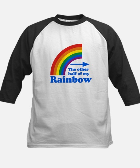 The other half of my rainbow Kids Baseball Jersey