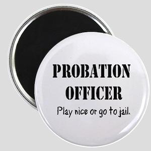 """PROBATION OFFICER 2.25"""" Magnet (10 pack)"""