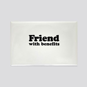 Friend with benefits Rectangle Magnet