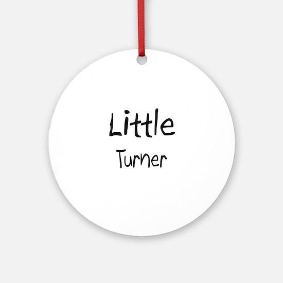 Little Turner Ornament (Round)