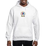 BOISVERT Family Crest Hooded Sweatshirt