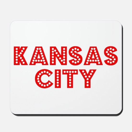Retro Kansas City (Red) Mousepad