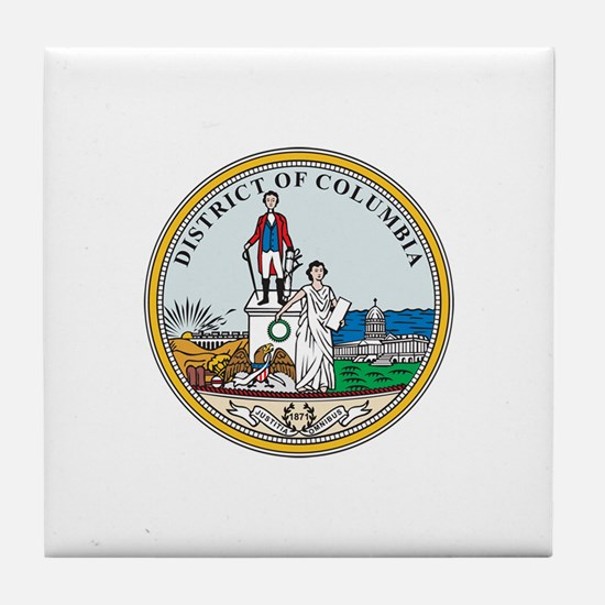 DISTRICT-OF-COLUMBIA-SEAL Tile Coaster