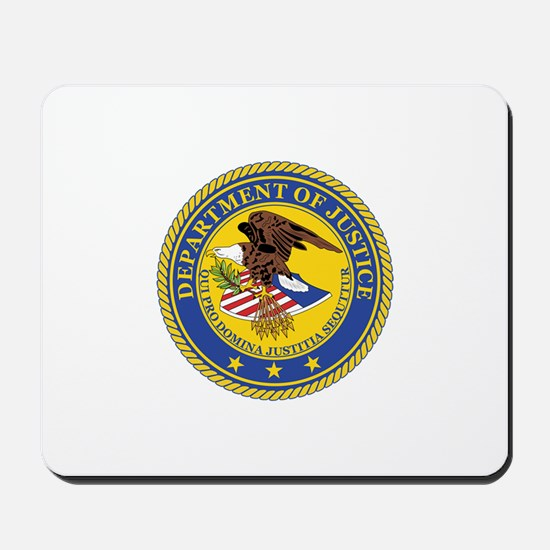 DEPARTMENT-OF-JUSTICE-SEAL Mousepad