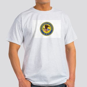 DEPARTMENT-OF-JUSTICE-SEAL Light T-Shirt