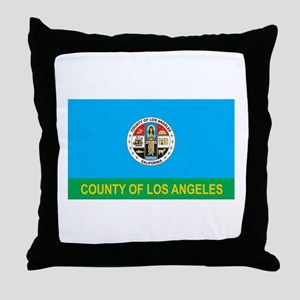 LOS-ANGELES-COUNTY Throw Pillow