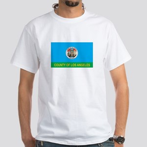LOS-ANGELES-COUNTY White T-Shirt