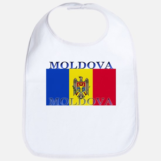 Moldova Moldovan Flag Bib