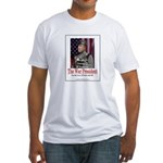 The War President Fitted T-Shirt