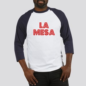 Retro La Mesa (Red) Baseball Jersey