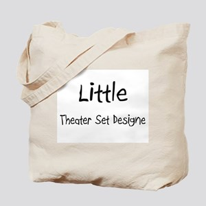 Little Theater Set Designe Tote Bag