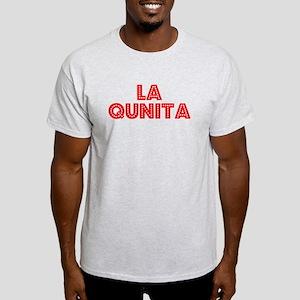 Retro La Quinta (Red) Light T-Shirt